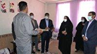 بازدید و سرکشی از خانواده زندانیان شهر زلزله زده سی سخت