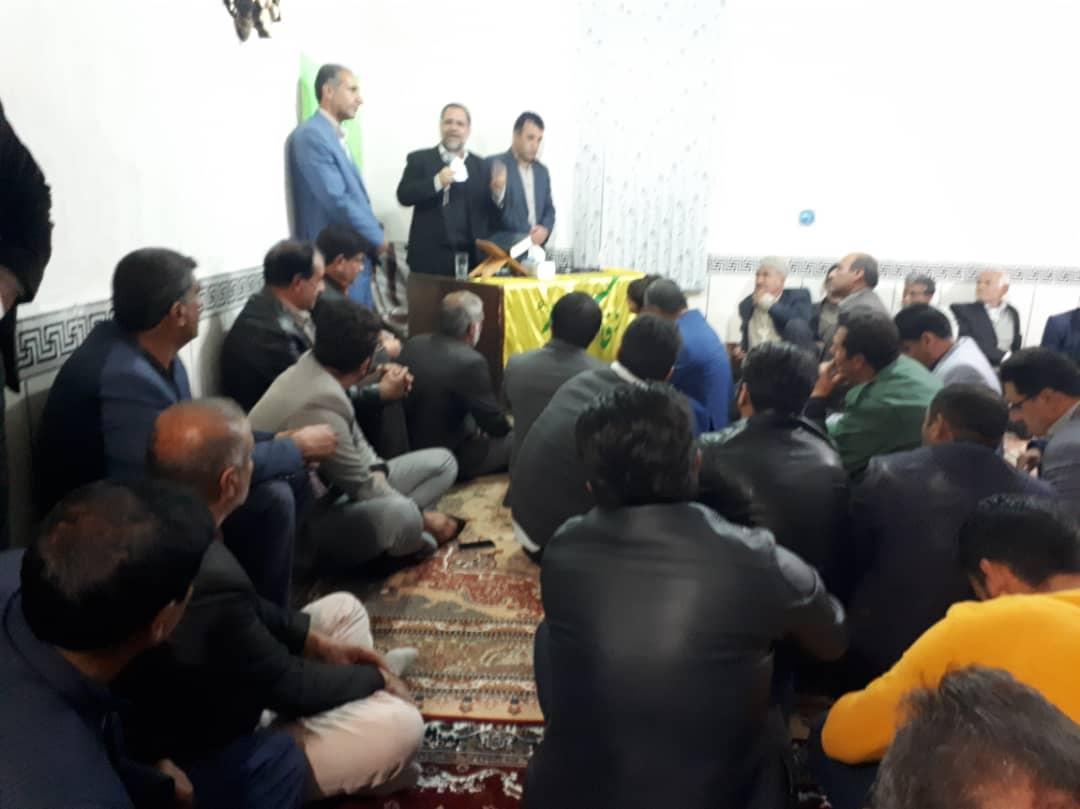 نماینده بویراحمد و دنا در مجلس شورای اسلامی جهت پیگیری و استماع مشکلات مردم به لوداب سفر کرد.